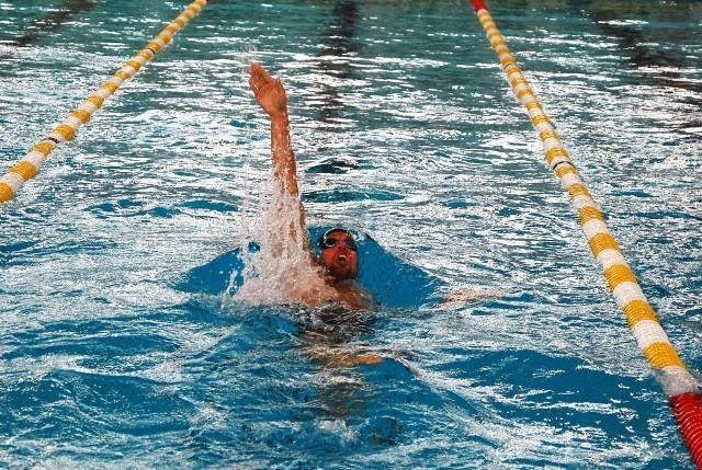 Yannick Lebherz über die 400 m Lagen.