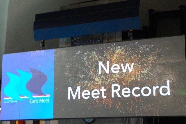 38 meets record were broken