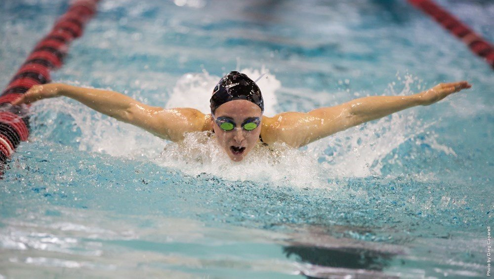 UConn Pool Records Fall, Lanker Sets Team Record At Husky Invite