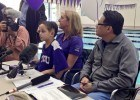 Photos, Videos From 8-Year-Old Nathan's TCU Signing Ceremony