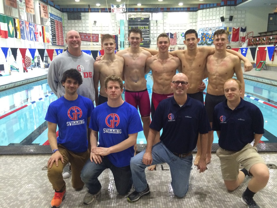 Germantown Intrasquad: Four Pool Records Set