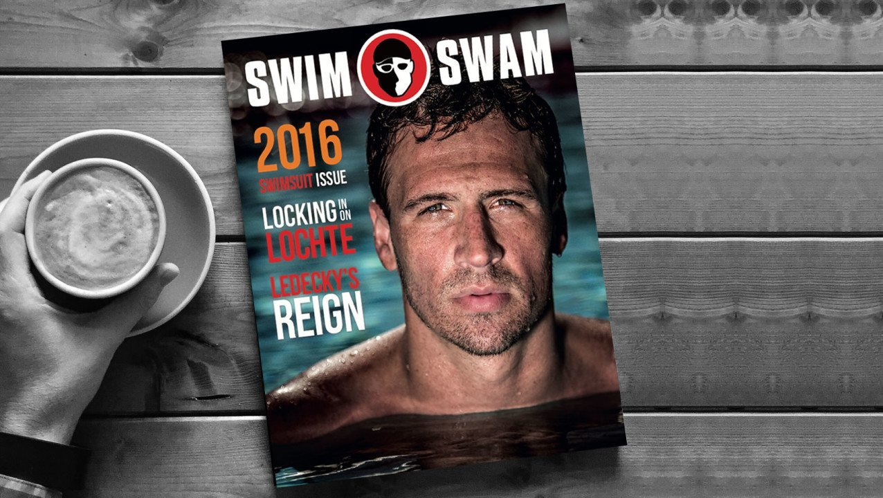 The SwimSwamMag 2016 Swimsuit Issue Cover Athlete Is…