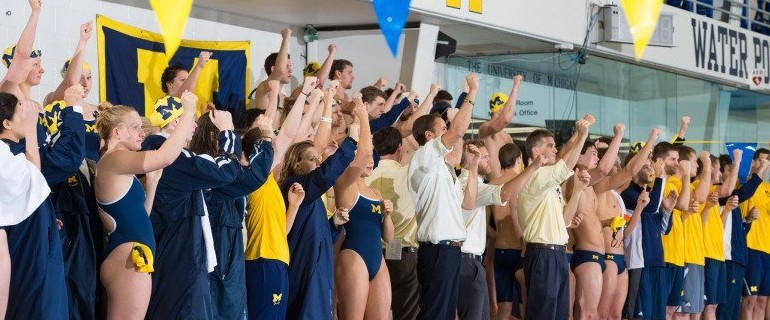 Michigan Sweeps Tripleheader Meet Against Louisville