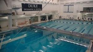 Duke, North Carolina ACC Dual Sets Eight New Pool Records