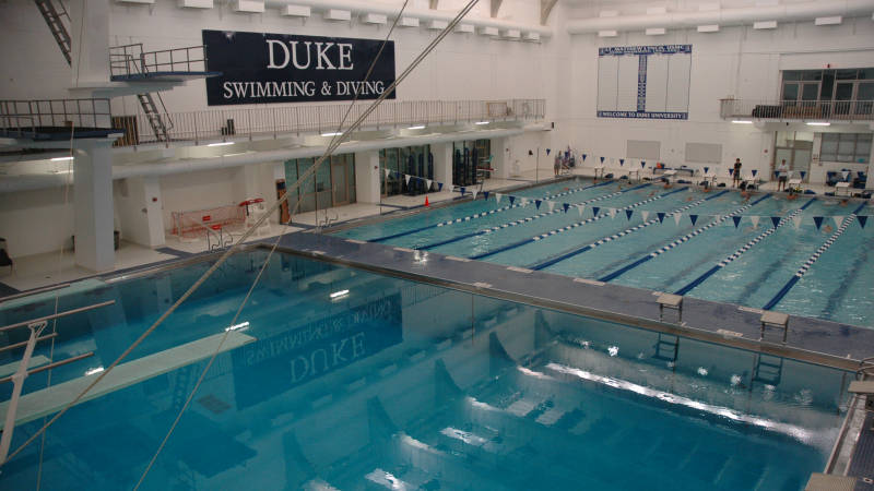 Duke, North Carolina ACC Dual Sets Eight New Pool Records