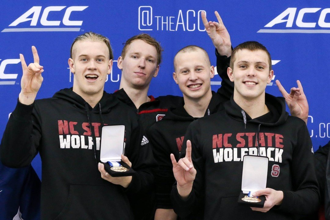 2016 M. NCAA Picks: NC State Looks to Win 200 Medley Relay Over Texas, Cal