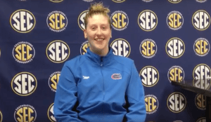 Watch: Florida's Kahlia Warner Discusses Her 3-Meter SEC Diving Title