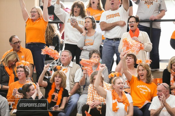 Volunteer Fans, courtesy of Craig Bisacre/Tennessee Athletics