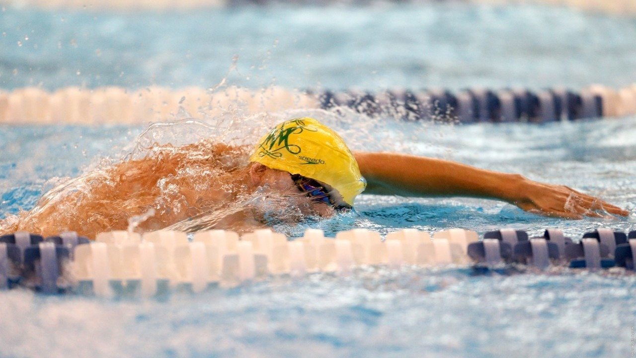 William & Mary's Missy Cundiff Swims PB and NCAA B-Cut in 50 Free