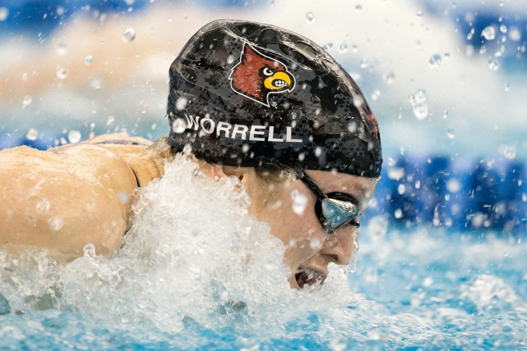 NCAA Women's 200 Butterfly: Worrell Has to Hold Off Eastin to Repeat