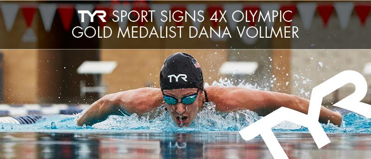 TYR Sport signs 4-Time Olympic Gold Medalist Dana Vollmer