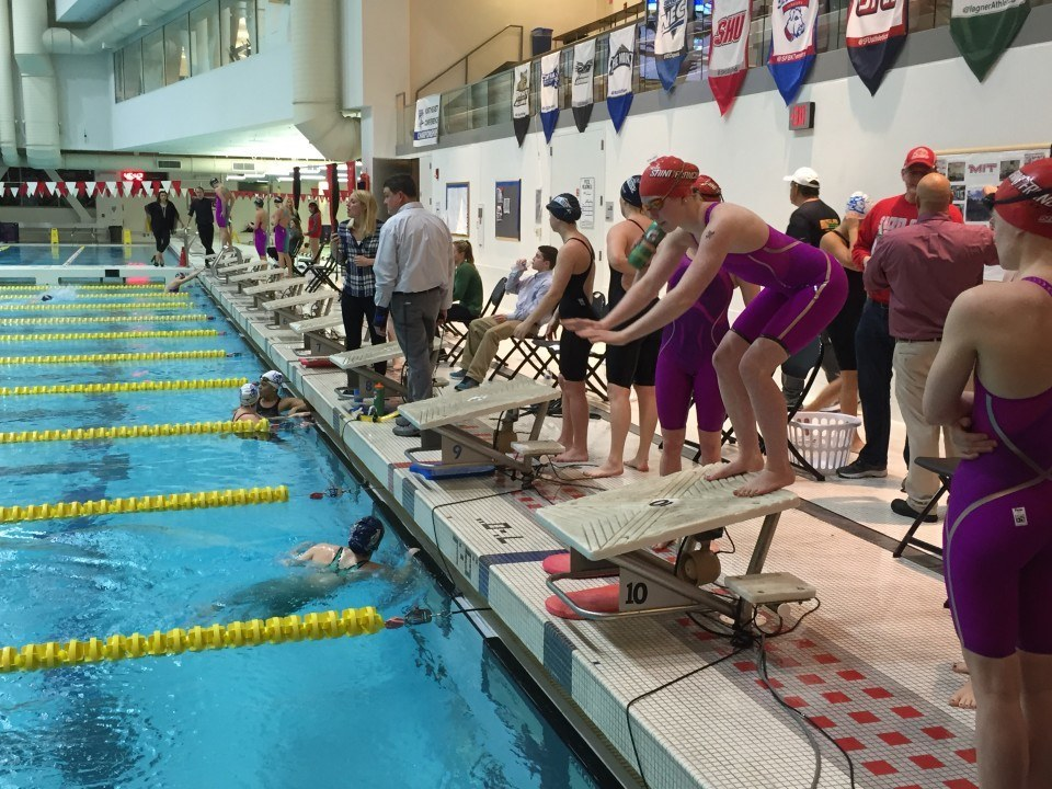 Wagner Regains the Lead on Day 3 of Northeast Champs