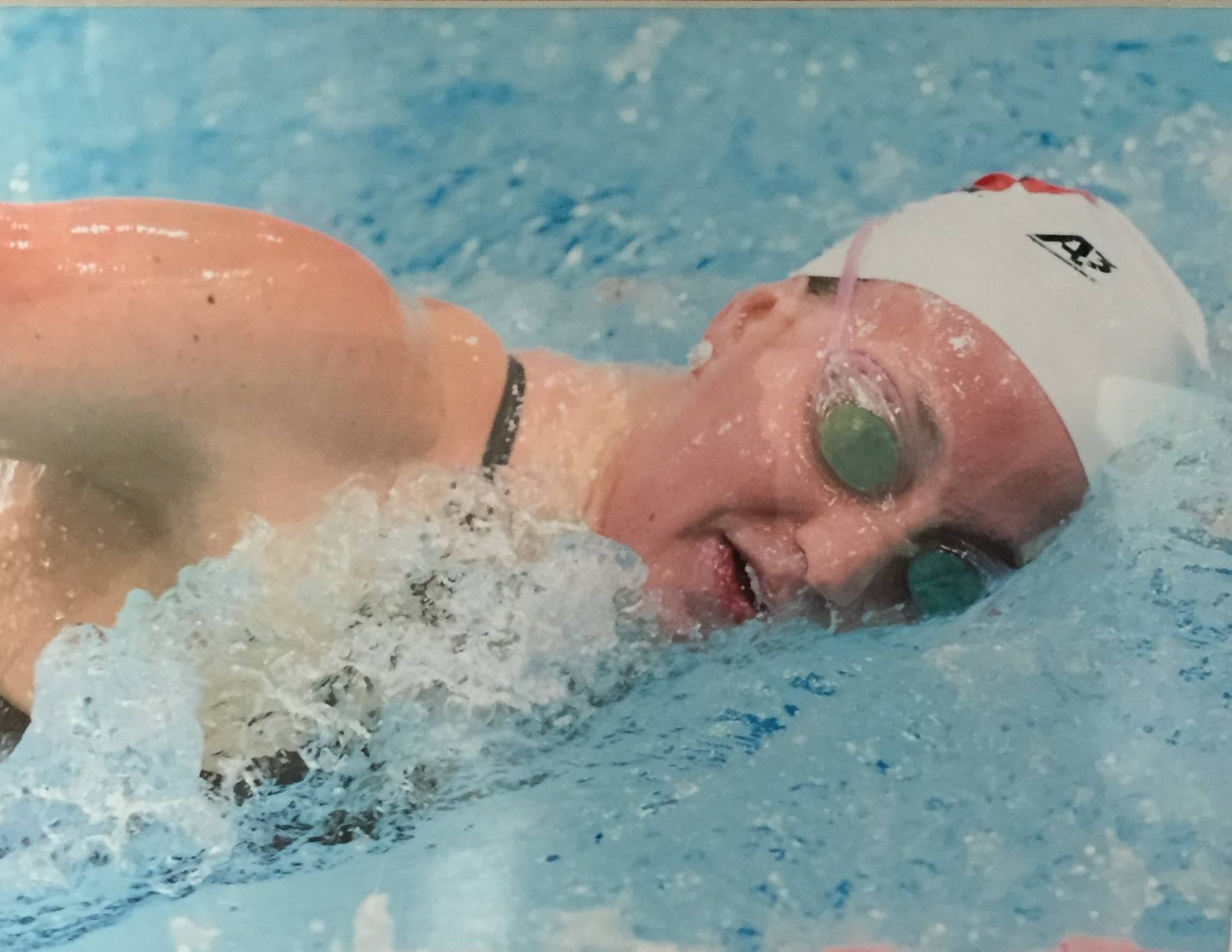 Big ten senior spotlight jenny holtzen of the university of wisconsin University of wisconsin swimming pool