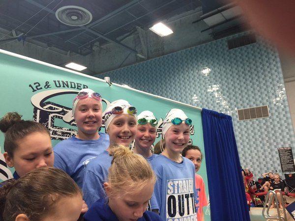 Schroeder Y girls Break 10&Under NAG With 2:00.98 In 200 Medley Relay