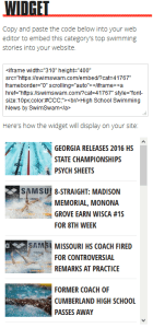 swimming-news-widget-preview