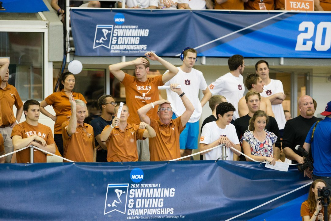 Texas Outscores Entire Big Ten Conference at Men's NCAA Championships