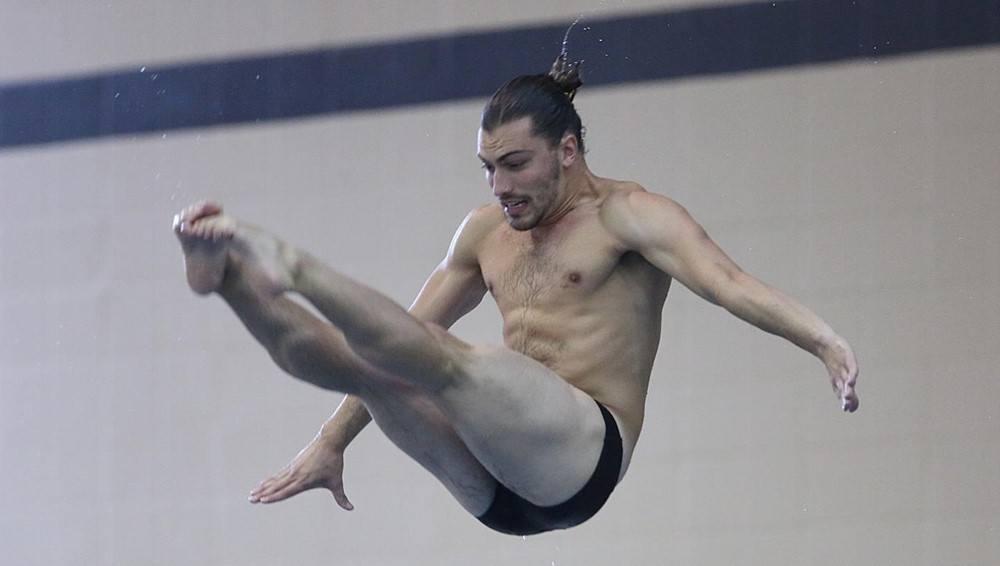 Mizzou Senior Clark Thomas Tops 3M Diving Prelims