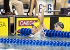 Cal's Rachel Bootsma claiming her third 100 back NCAA title. Photo Credits: Tim Binning/TheSwimPictures.com