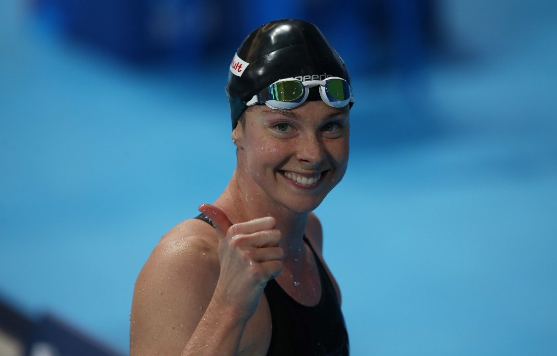 Lauren Boyle Named 2016 New Zealand Swimmer Of The Year