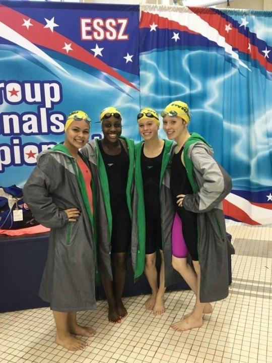 Dynamo Swim Club Shatters Girls 13-14 800y Free Relay NAG