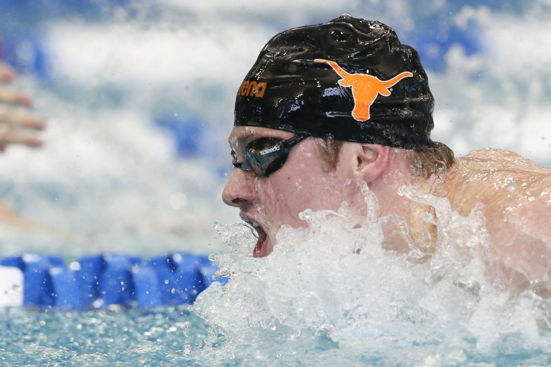 Conger v. Schooling Matchup in the Cards for Texas Invite