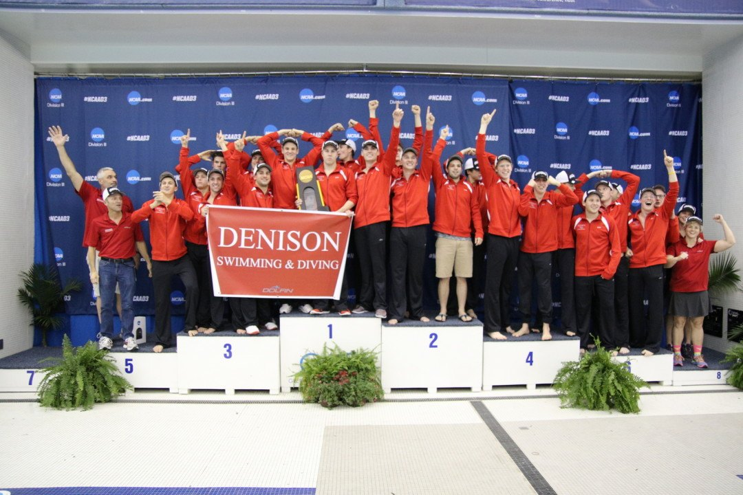 2017 NCAA Division III Men: Scoring the Psych Sheet – Can Denison Do It Again?