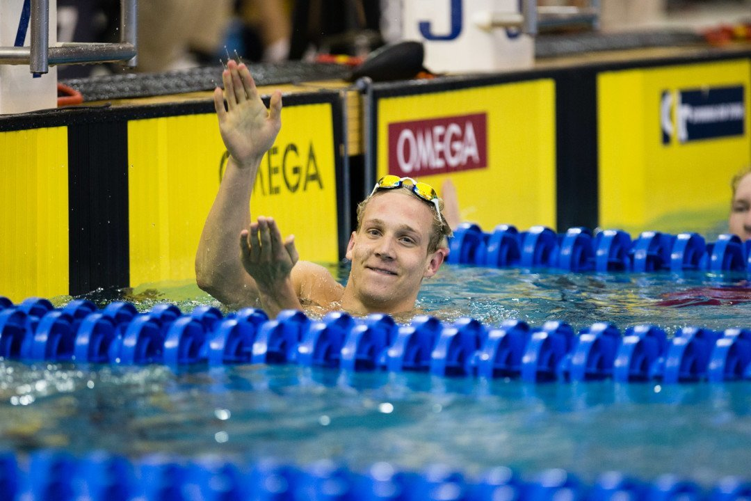 Dressel Cracks Best Time in 200 Free With 1:48.39 in Knoxville