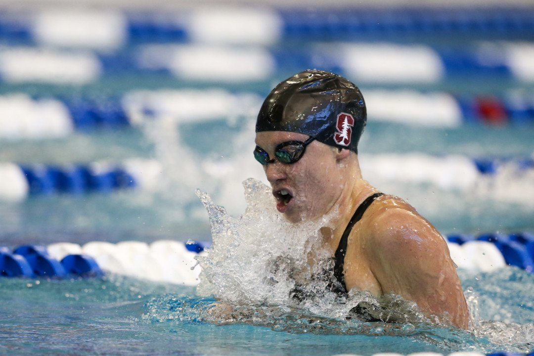Ella Eastin Swims Fastest 400 IM Ever Done by NCAA Freshman