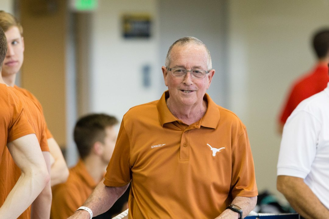 Competitor Coach of the Month: Eddie Reese, Texas Longhorns
