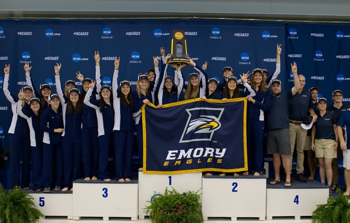 Emory Women's 200 Free Relay Lowers NCAA D3 Record by .90 to 1:30.52