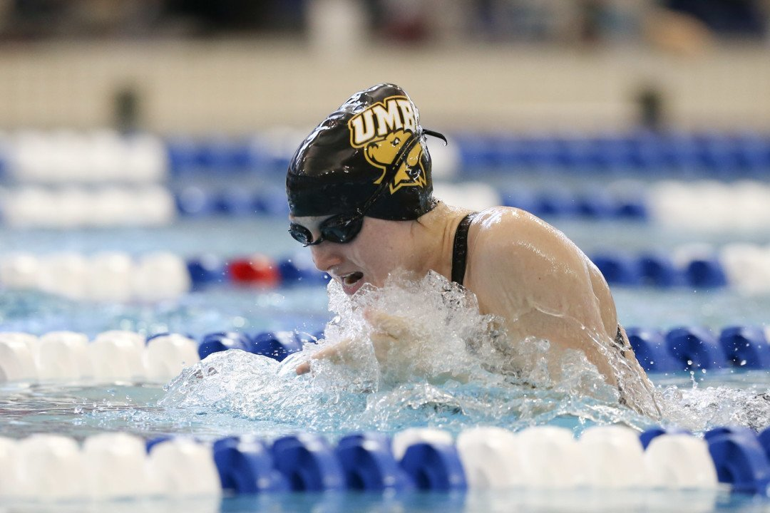 Escobedo Clocks 59.0 100 Breast as UMBC Wins 3rd Straight America East Title