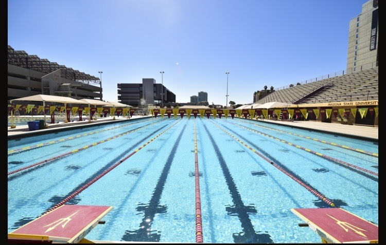 Sun Devil Speed Swimming Day Camp in July