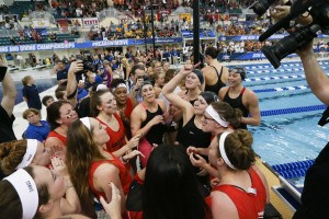 2016 Women's NCAA Championships: Point Progression By Event