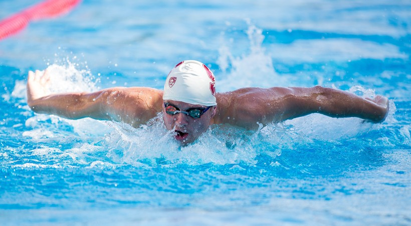Umbach Named Pac-12 Men's Swimming Scholar-Athlete of the Year