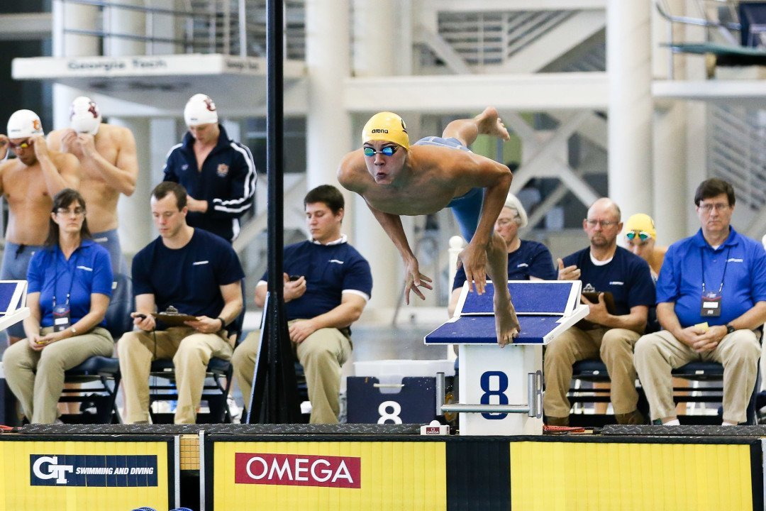 Cal's Gutierrez Scratches 100 Fly Final, Teammate Lynch Now In