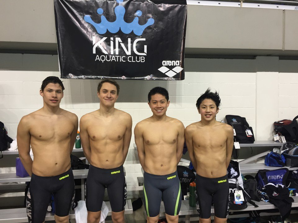 KING Boys Add LCM 200 Medley Relay NAG to Earlier SCY Mark
