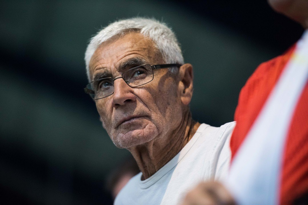 Jon Urbanchek Wins IOC Coaches Lifetime Achievement Award