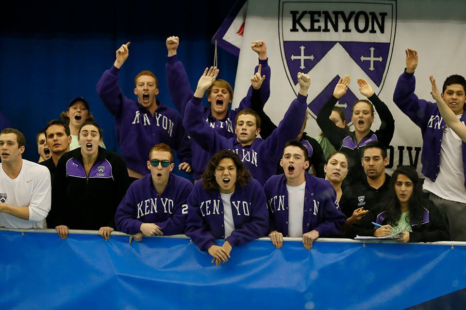 Kenyon Butterflyer David Fitch Does Flip Turns in Medley Relay at High-stakes NCAAs