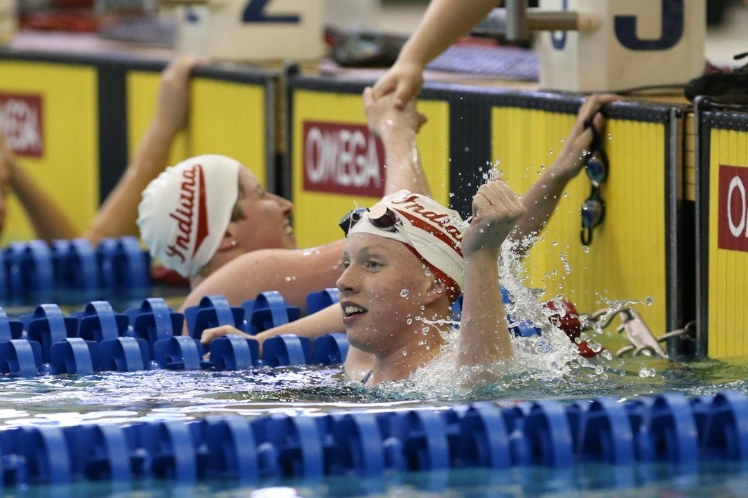Indiana Men and Women Sweep Tri Meet at Kentucky
