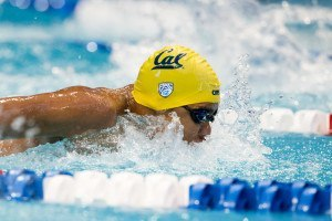 Justin Lynch Wins 100 Fly on Blind Touch at Pac-12s (VIDEO INTERVIEW)