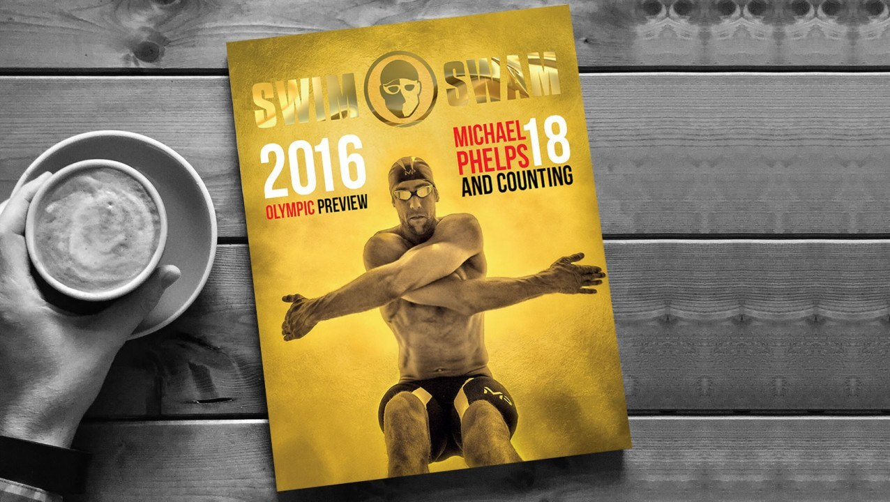 How to get the Michael Phelps Gold Cover 2016 Olympic Preview Magazine