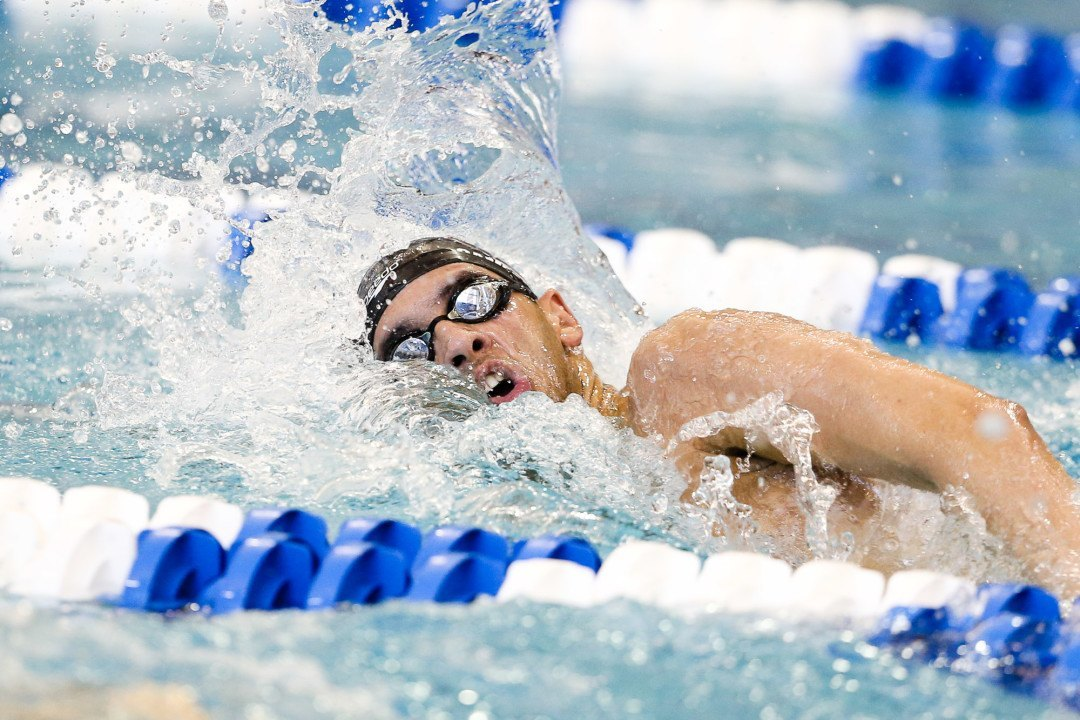 Minuth, Mahmoud Jump Into All-Time Top 10 In 500 Free Prelims