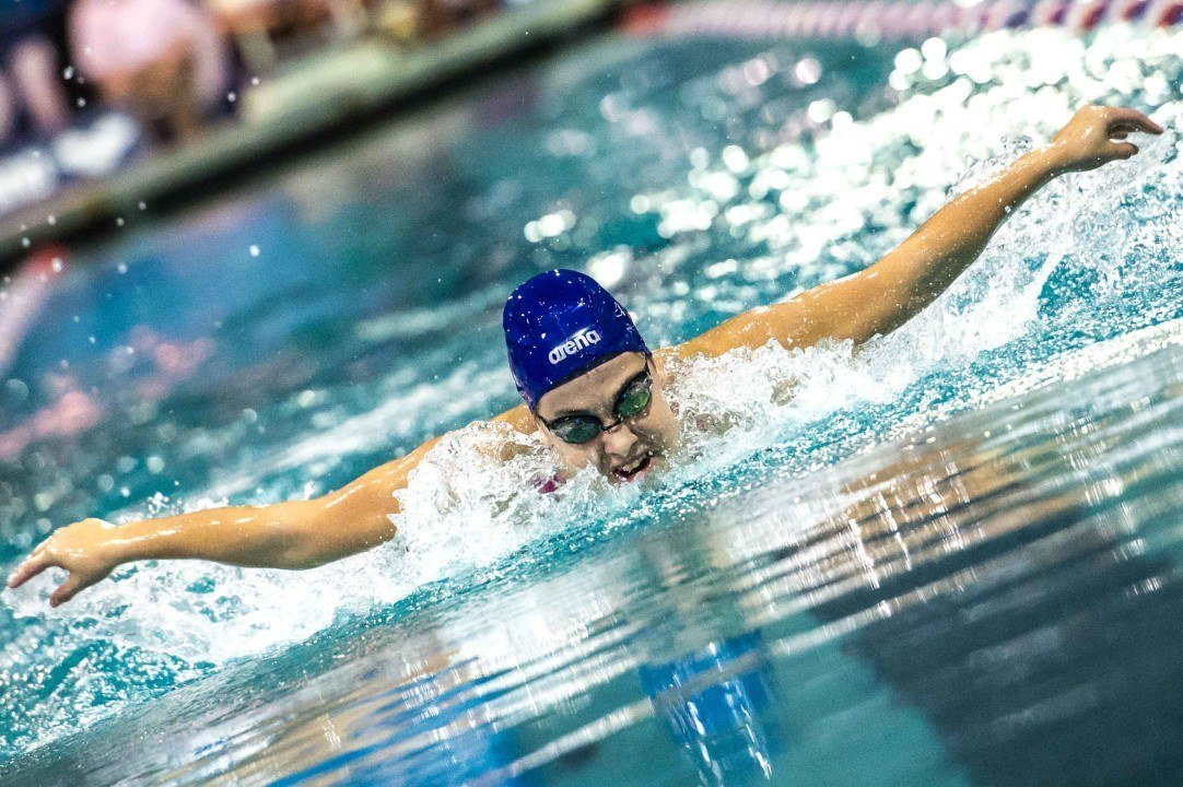 Mary-Sophie Harvey Kicks Off Trials With 100th Provincial Record