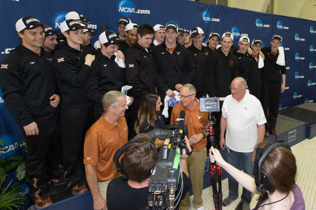 SwimSwam Pulse: 84% Predicted Texas NCAA Championship
