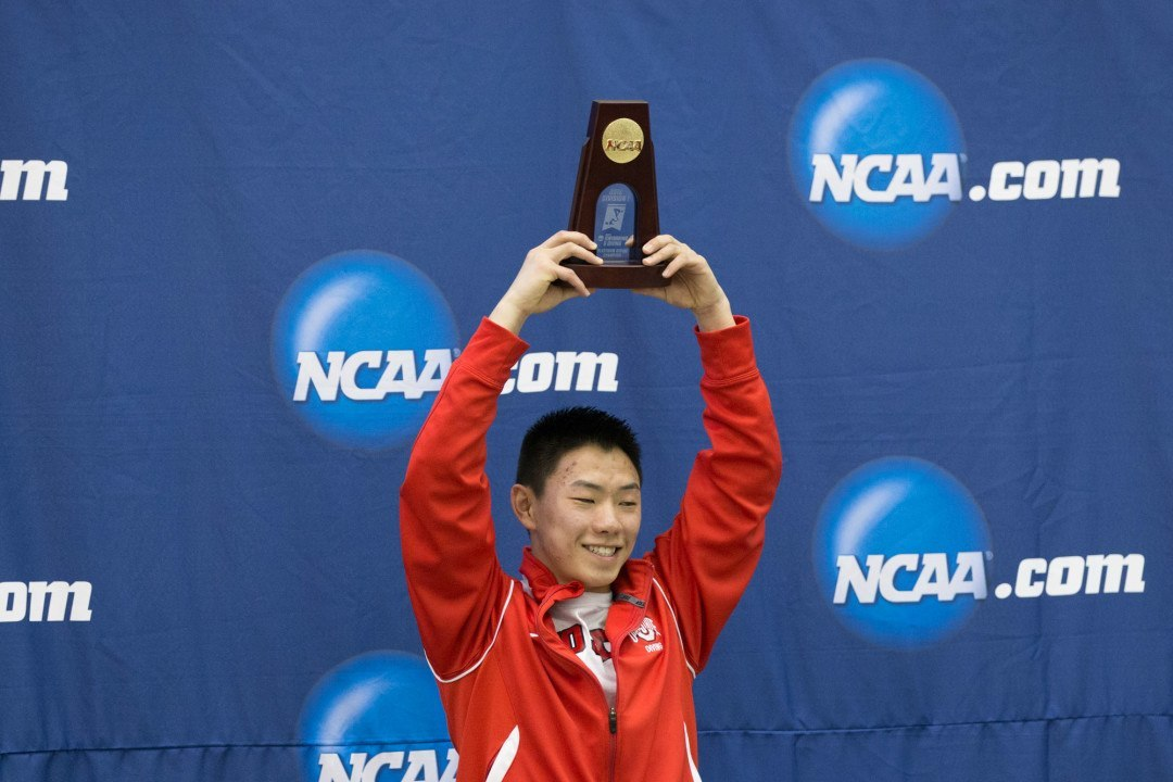 Zeng Completes Zone B Sweep, UGA Women Add One Diver On Day 3