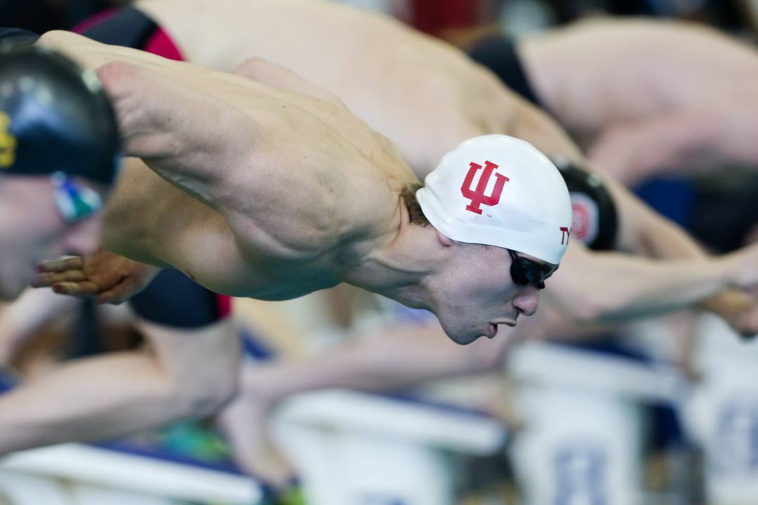 College Swimming Previews: Sprinters, Breaststrokers Lead #9 Indiana