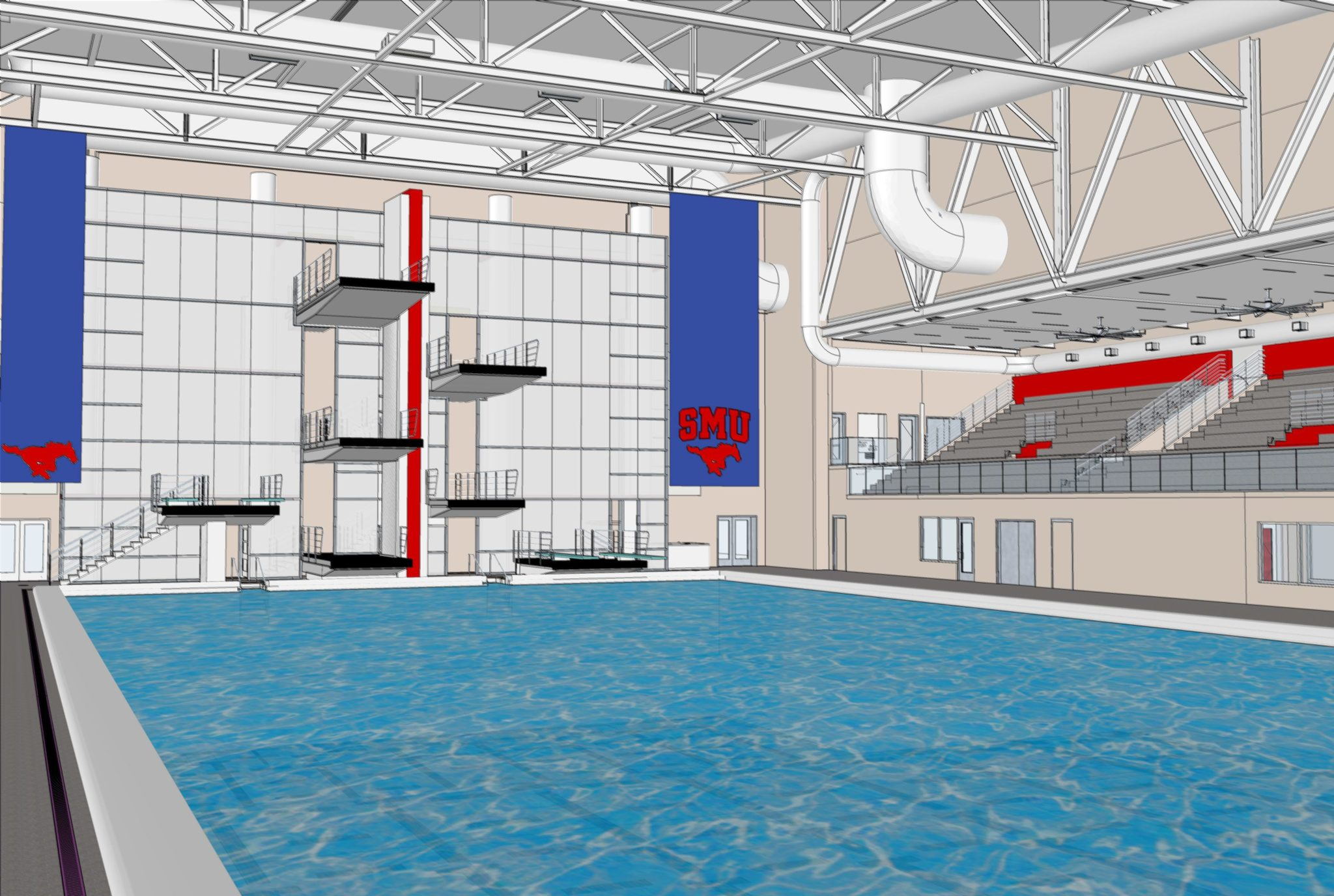 SMU Interior - Pool 1 (courtesy of Counsilman-Hunsaker)