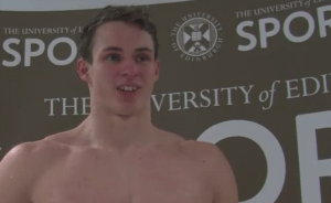 Ben Proud Stoked With 100 Free PB In Edinburgh (Video Interview)