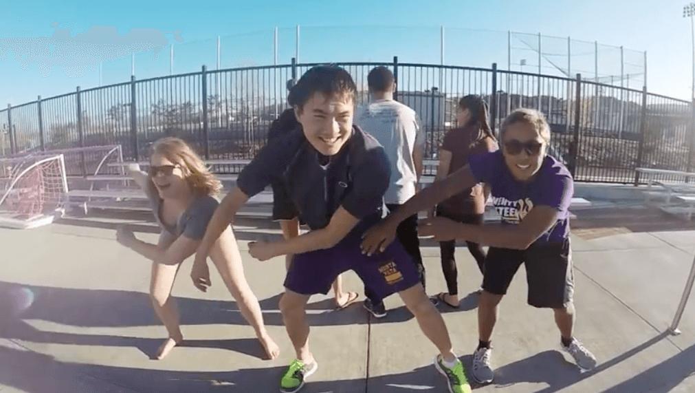 Monta Vista High School Swim Team Rock Beyoncé