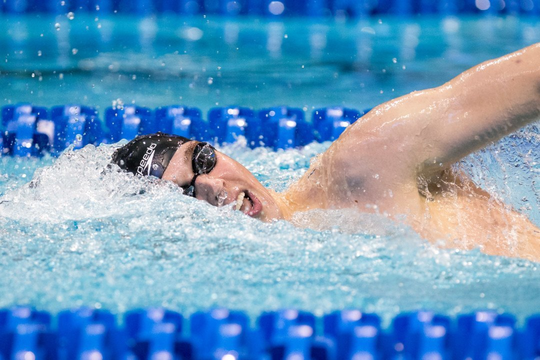 Texas' Clark Smith Scratches 200 Free on Friday at NCAAs